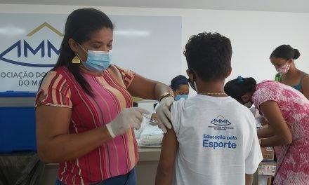 AMMA encerra mais uma campanha de vacinação contra H1N1 e sarampo